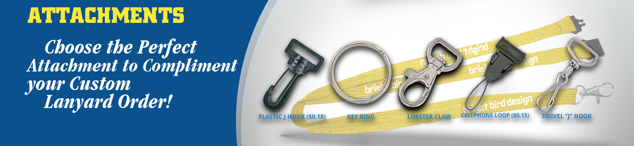 Attachments Banner from Discount-Lanyards.com