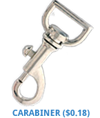 Carabiner from Discount-Lanyards.com