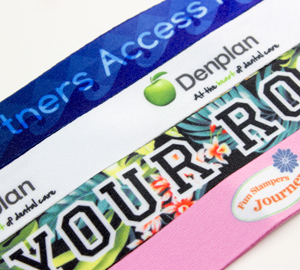 Dye Sublimated Lanyards from Discount-Lanyards.com