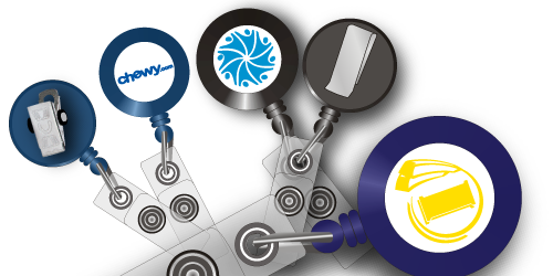 Badge Reels from Discount-Lanyards.com