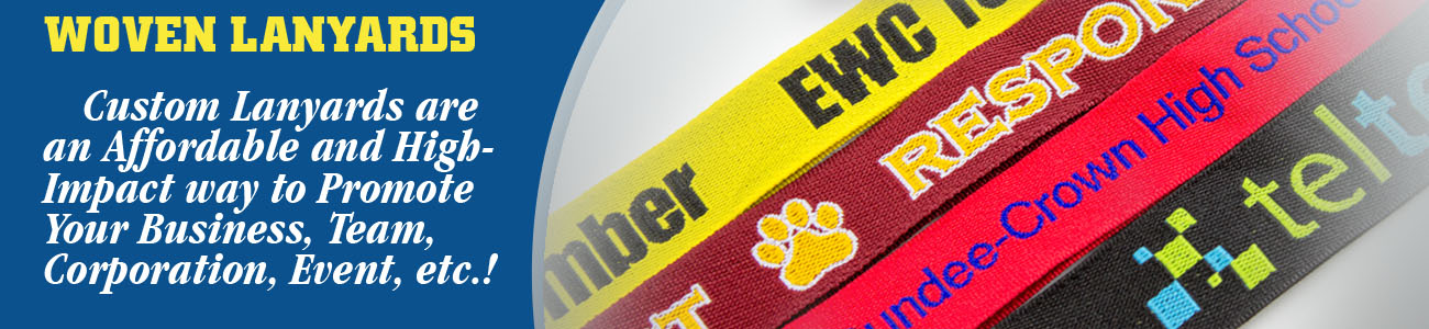 Woven Lanyards Banner from Discount-Lanyards.com